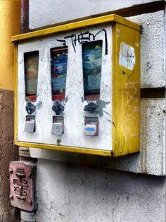 90er #Kaugummiautomat