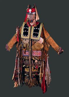 Female Shaman's Costume. Evenk, Eastern Siberia. Collected in 1910