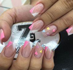 Pretty Nail Art, Cute Nail Art, Cute Nails, Toe Nail Color, Nail Colors, Semi Permanente, Neon Nails, Gel Nail Designs, Nail Spa