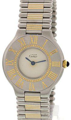 0da4309a670 Cartier Must de Cartier 21 swiss-quartz womens Watch NA (Certified  Pre-owned)