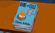 Chinua Achebe no episódio dos Simpsons