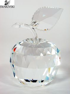 Swarovski Clear Crystal Figurine Fruit APPLE #160796 Perfect