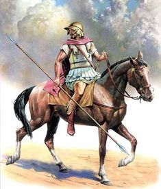 Boetian cavalry, in the service of Alexander the Great, 331 B.Ezhov (А. Alexander The Great, Greek History, Ancient History, Military Art, Military History, Greek Soldier, Hellenistic Period, Greek Warrior, Classical Antiquity