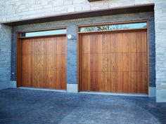 Santiago - Spanish Style Custom Wood Garage Door - – Custom Sizes Available – Garage Doors are delivered complete including tracks, springs & hard - Cheap Garage Doors, Cedar Garage Door, Plan Garage, Garage Door Sizes, Wooden Garage Doors, Garage Door Design, Garage Ideas, Door Ideas, Jeep Garage