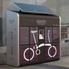 images of brompton bike lockers - Google Search