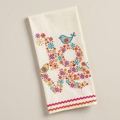 http://www.worldmarket.com/product/embroidered love birds kitchen towel.do?