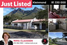 COTTAGE IN MOUNTAIN AVENUES 2 Bedroom, 2 bathrooms open plan house in the mountain avenues with double garage. Only a short walk to the mountain hiking trails. Large backyard and secure parking. This small coastal town is situated in the heart of the Kogelberg Biosphere Reserve. Our Golf Course is very popular and well known. #CCH #kleinmond #2bedroom #homesforsale #kleinmondhomes #housesforsale #kleinmondproperties #propertiesforsale #overbergpropertyforsale Provinces Of South Africa, Open House Plans, 2 Bedroom House, Large Backyard, Double Garage, Mountain Hiking, Mountain Homes, Coastal Homes, Cottage Homes
