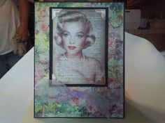 Marilynn Monroe All Occasion Note Card A18 by CraftyTreet on Etsy