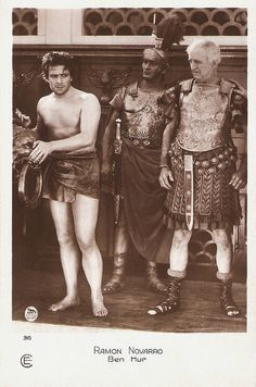 Ramon Novarro, Ben Hur, via Flickr.