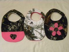 mossy oak break up fabric pink | ... Pink Terry Cloth Bib- Baby Girl Realtree Camo Bib-Mossy Oak Snow Camo Bib Pattern, Free Pattern, Baby Bibs Patterns, Mom Outfits, Bathroom Towels, Mistakes, Little Ones, Bath Linens, Bath Towels