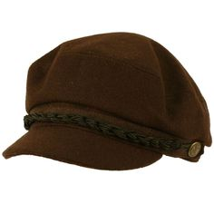 Men's Greek Fisherman Winter Wool Blend Ivy Cabby Driver Hat Flat Cap Brown LXL in Clothing, Shoes & Accessories   eBay