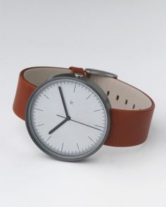 Grey Tan Watch