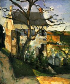 The House and the Tree - Paul Cezanne
