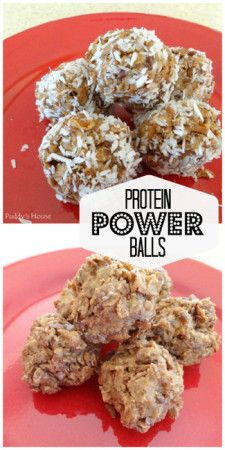 Protein Power Balls - Just 3 or 4 (if you use coconut) ingredients makes a nice healthy snack