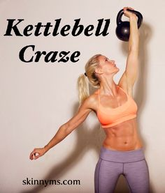 Burn some serious fat, tone and define with these 3 Top Rated Kettlebell Workouts! #fatloss