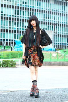 ストリートスナップ渋谷 - YUKARI MORIKAWAさん