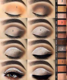 40 Easy Steps Eye Makeup Tutorial For Beginners To Look Great! - Page 36 of 40 - Latest Fashion Trends For Woman - 40 Easy Steps Eye Makeup Tutorial For Beginners To Look Great! – Page 36 of 40 – Fashionsum Blo - Makeup Geek, Eyeshadow Makeup, Eyeshadow Palette, Makeup Tips, Makeup Ideas, Eyeshadows, Gel Eyeliner, Prom Makeup, Lip Makeup