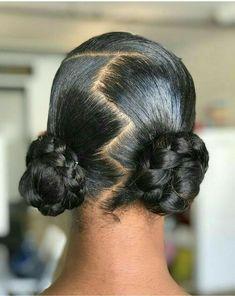 Natural Hair Bun Styles, Girls Natural Hairstyles, Natural Hair Updo, Natural Hair Styles For Black Women, Natural Hair Care, Black Women Hairstyles, Curly Hair Styles, Ethnic Hairstyles, Natural Protective Hairstyles