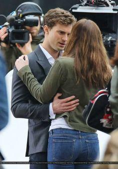 50 Shades of Grey Movie- Anastasia Steele and Jamie Dornan