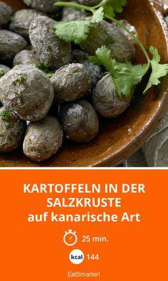 Kartoffeln in der Salzkruste - auf kanarische Art - smarter - Kalorien: 144 kcal - Zeit: 25 Min. | eatsmarter.de
