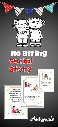 Social Story-Biting, A tried and tested strategy in behaviour managment for students with Autism.