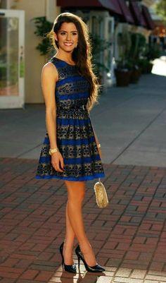 hotminiskirts:  Paulina Vega looking gorgeous in this mini dress and heels.