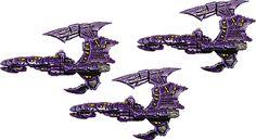 Dark Eldar - Battlefleet Gothic Battlefleet Gothic, Rogue Traders, Different Races, Dark Eldar, Game Workshop, Warhammer 40k, Rogues, Science Fiction, Concept Art