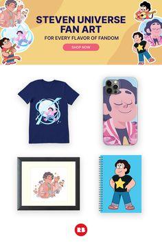 Steven Universe fan art designed and sold by independent artists. Steven Universe, Fandoms, Fan Art, Artists, Design, Fantasy Landscape, Scenery, Shirts, Fandom