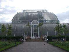 Kew gardens Palm House Entrance