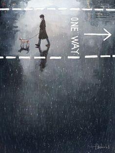 ●●●ONE WAY●●●