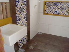 Construindo um Castelinho: Azulejos na Passarela