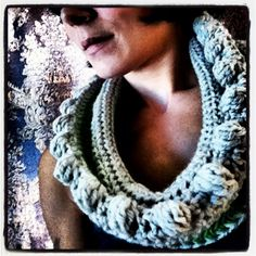 Wool Bobbled Cowl by brandymccoysboutique on Etsy, $45.00