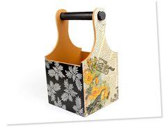 Artesanato em Madeira - Caixas em MDF Decoradas Passo a Passo — Cursos   Revista Artesanato