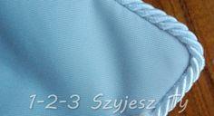Ozdobna wypustka służy do dekorowania poduszek, kap, odzieży, zasłon i innych elementów dekoracyjnych. Ten tutorial pokazuje jak przyszyć wypustkę do poduszki.
