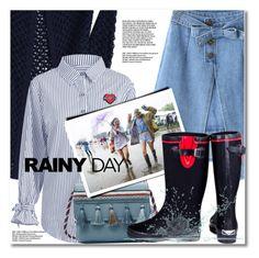 """Splish Splash: Rainy Day Style"" by svijetlana ❤ liked on Polyvore featuring Forever Young, rainyday and zaful"
