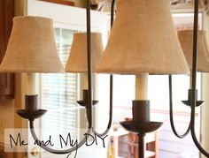 Today& post is about how I gave our old chandelier a complete overhaul, and I& not just talking about a coat of paint or some new shades. Dining Room Light Fixtures, Dining Room Lighting, Storage Hacks, Diy Storage, Old Chandelier, Ranch Decor, Tidy Up, Candlesticks, Kitchen Design
