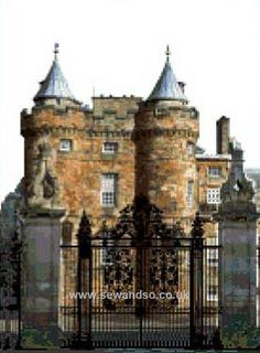 Holyrood Palace - Edinburgh the old palace of Mary Queen of Scott's