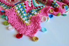 Cherry Heart: Dolly Mixture Blanket