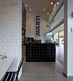 Avanti restaurant in Tel Aviv by Studio OPA