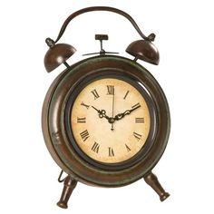 Vintage chic alarm clock