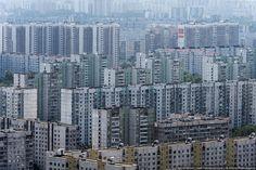 https://flic.kr/p/dq52FB | Residential area, Moscow | Brrr....
