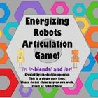 Energizing Robots Articulation Game!  There are two variations to use this game!Included in this game pack:24 /r/ initial word cards with pictur...