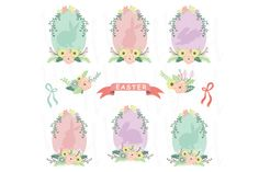 Check out Easter Eggs Elements by YenzArtHaut on Creative Market