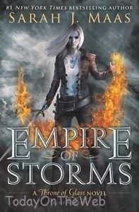 Empire of Storms (Throne of Glass) by Sarah J. Maas - Kingdoms collide in Sarah J. Maas's epic fifth installment in the New York Times bestselling Throne of Glass series. The Assassin, Sarah Maas, Sarah J, Throne Of Glass Books, Throne Of Glass Series, Empire Of Storms, Ya Books, Good Books, Books To Read