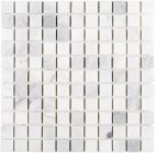 Mozaika Dunin Black&White Eastern White 25 30.5x30.5 cm