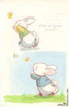 Conejitos de Dephine Doreau.