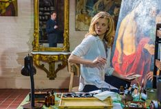 Irene Adler painting herself into a corner.