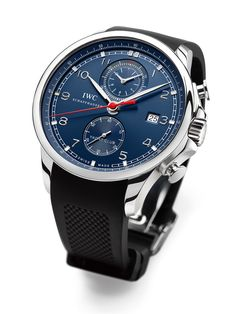 IWC Portuguese Yacht Club Chronograph Edition Laureus Sport For Good Foundation
