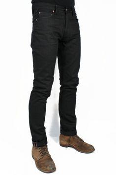 Wrenchmonkees Jeans #112 Black Selvedge : SUNSETSTAR