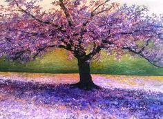 David Najar - Purple Tree